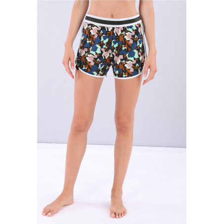 Шорты Yoga Shorts - Made in Italy - BMP - Floral