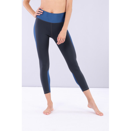 Леггинсы Superfit Yoga Trousers - B84B - Made in Italy - India Ink & Blu Vienna