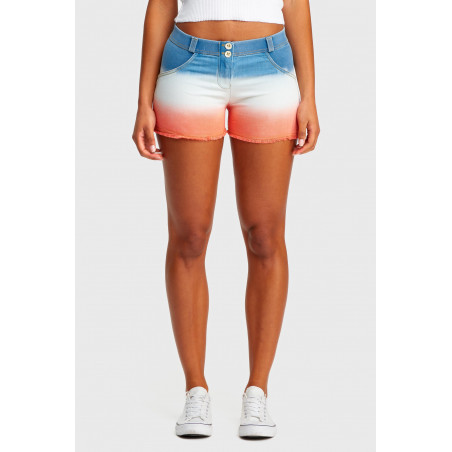 Шорты WR.UP Shorts - Regular Waist - JWA - Indigo & White & Nasturtium