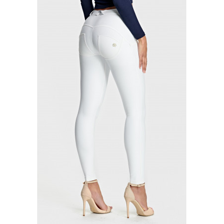 WR.UP Ecoleather - Regular Waist Skinny - W0 - White