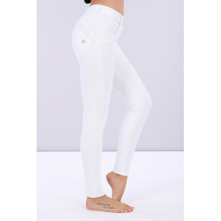 Брюки WR.UP Regular Waist Skinny - Lustrous Shaping Pants - W - White