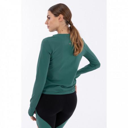 Толстовка Bio D.I.W.O® Performance Yoga Sweatshirt - Made In Italy - V37 - Smoke Pine