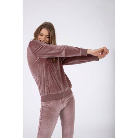 Костюм WR.UP® Tracksuit - Soft Chenille With Glitter Bands - P108 - Light Pink