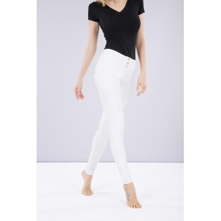 Брюки WR.UP® Ecoleather - Mid Waist Skinny - W0 - White
