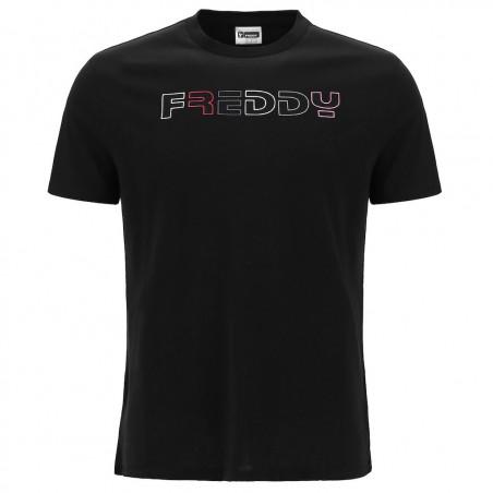 Футболка с коротким рукавом - Логотип Freddy - Черный