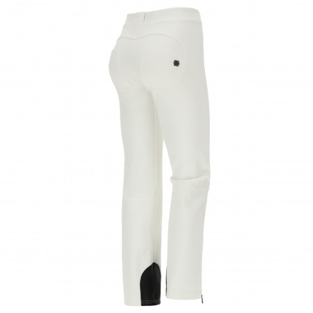 WR.UP® Snow - Ski Trousers With Ankle Zip - Made In Italy - W - White