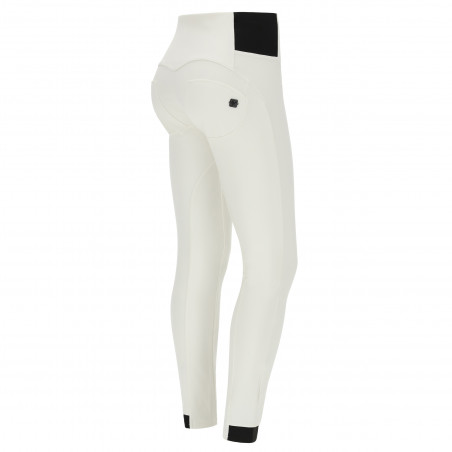 WR.UP® Snow - High Waist Ski Trousers - Made In Italy - W - White