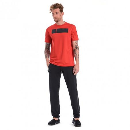 "D.I.W.O® Футболка с коротким рукавом ""Perfect Fit"" - Техническая ткань - R57 - Красный"