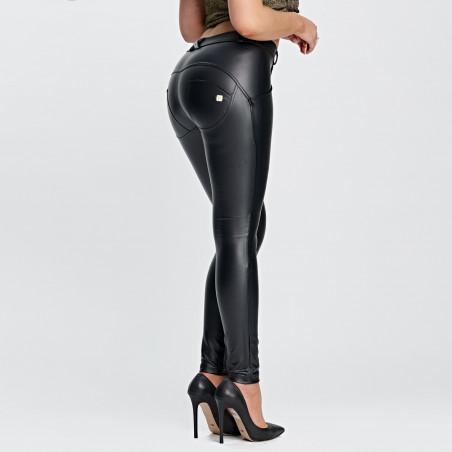 Брюки WR.UP® Ecoleather - Skinny - Средняя талия - N0 - Черный