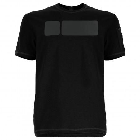 Футболка с коротким рукавом - N0 - Черный